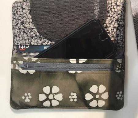 Slimline fabric wallet