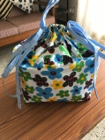 Large knitting project bag