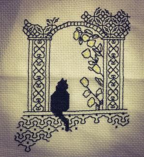 Blackwork cat